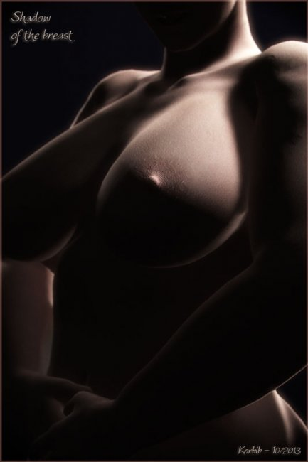 Shadow of the breast
