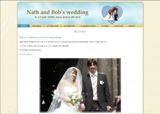 nath and bob's wedding